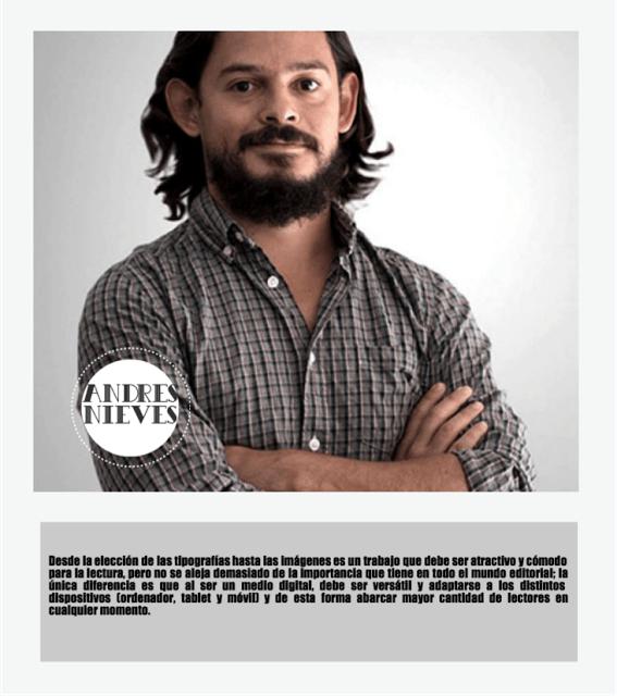 Diseño de blogs: Andrés Nieves