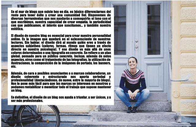 Diseño de blogs: Marta Parra