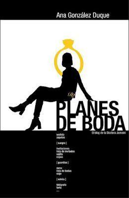 Portada de Planes de Boda, de Ana González Duque