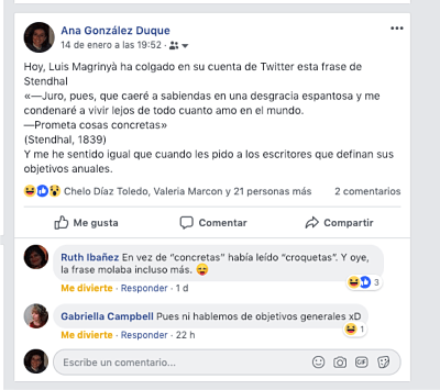 Facebook personal