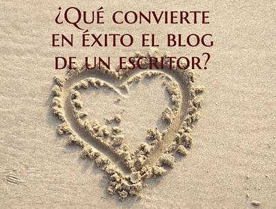 ¿Qué convierte en éxito el blog de un escritor?