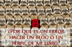 error blog de tu libro