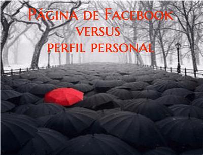 Página versus perfil personal en Facebook