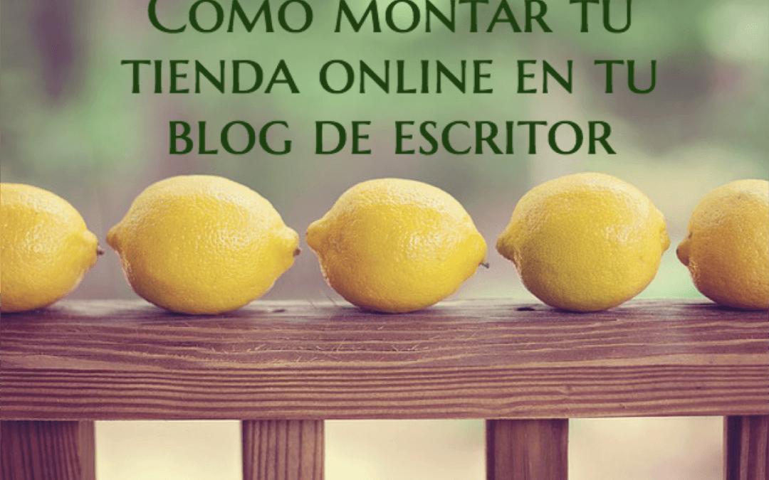 Cómo montar una tienda online en tu blog de escritor