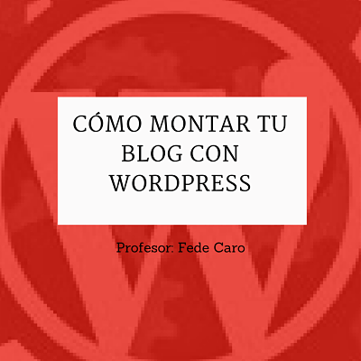 Blog con wordpress
