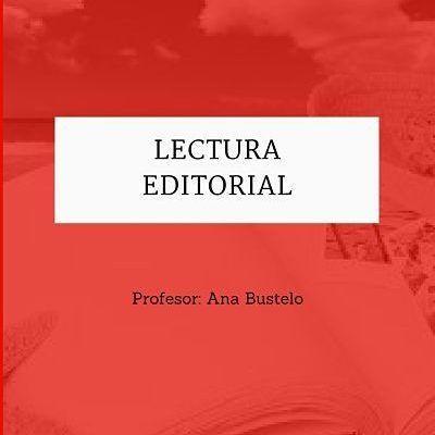Lectura-editorial