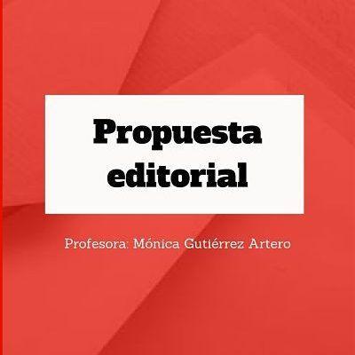 Propuesta editorial