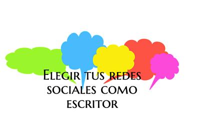 Elegir tus redes sociales como escritor