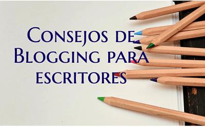 Consejos de blogging para escritores