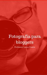 Curso de fotografía para bloggers