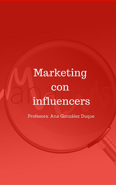 curso de marketing con influencers
