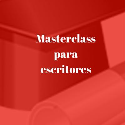 master class de escritura