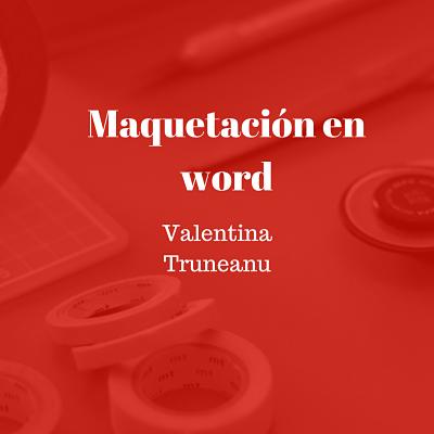 Maquetación en word