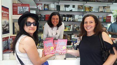 Feria del Libro de Madrid año 2017 Ana González Duque