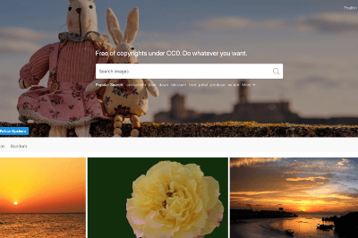 PxHere: banco de imágenes