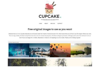Banco de imágenes gratuitas para tu blog: Cupcake